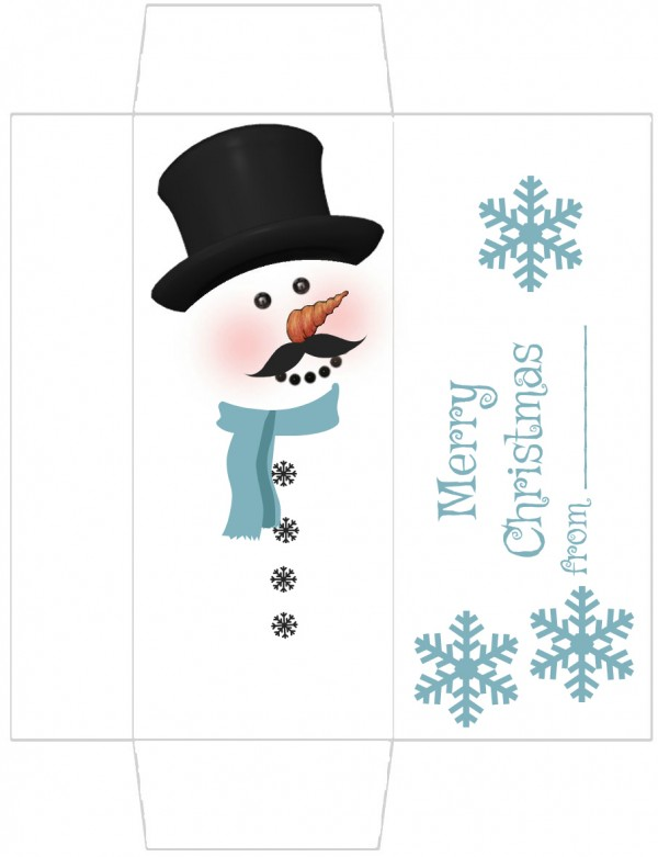 Magic image regarding snowman candy bar wrapper free printable